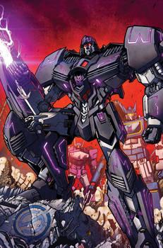 TF Spotlight Megatron RI cover colors
