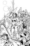 TF MTMTE 13 cover lineart