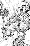 TF MTMTE 21 cover lineart