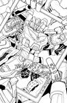 TF MTMTE 22 cover lineart