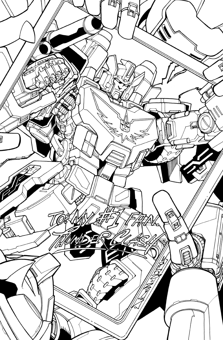 TF MTMTE 22 cover lineart by markerguru