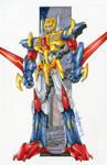 commission metalhawk by markerguru
