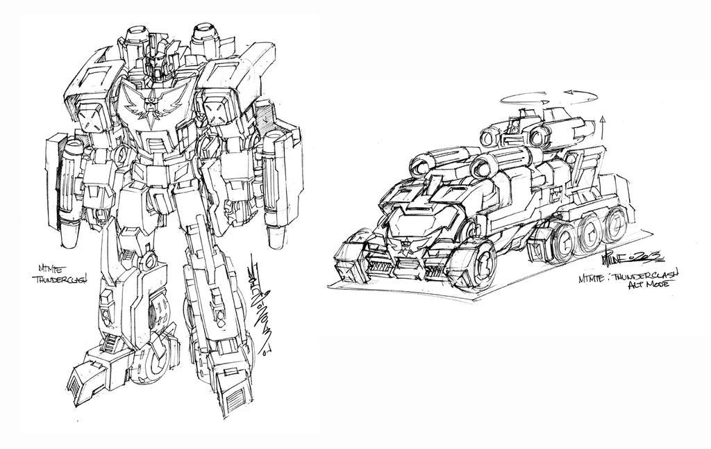 TF MTMTE Thunderclash Design by markerguru