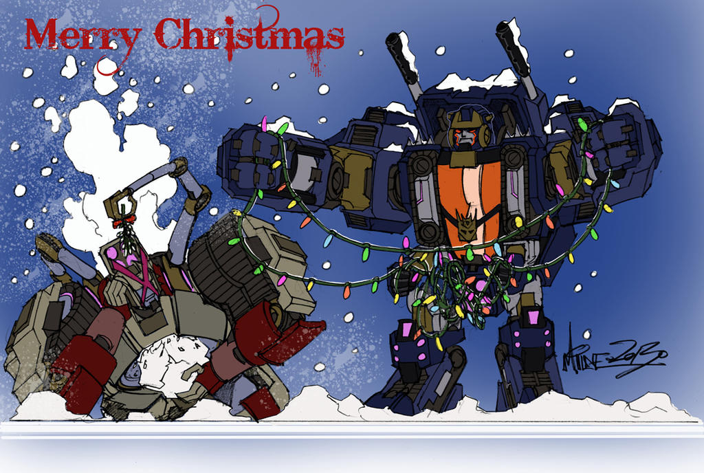 Merry Christmas 2013 by markerguru