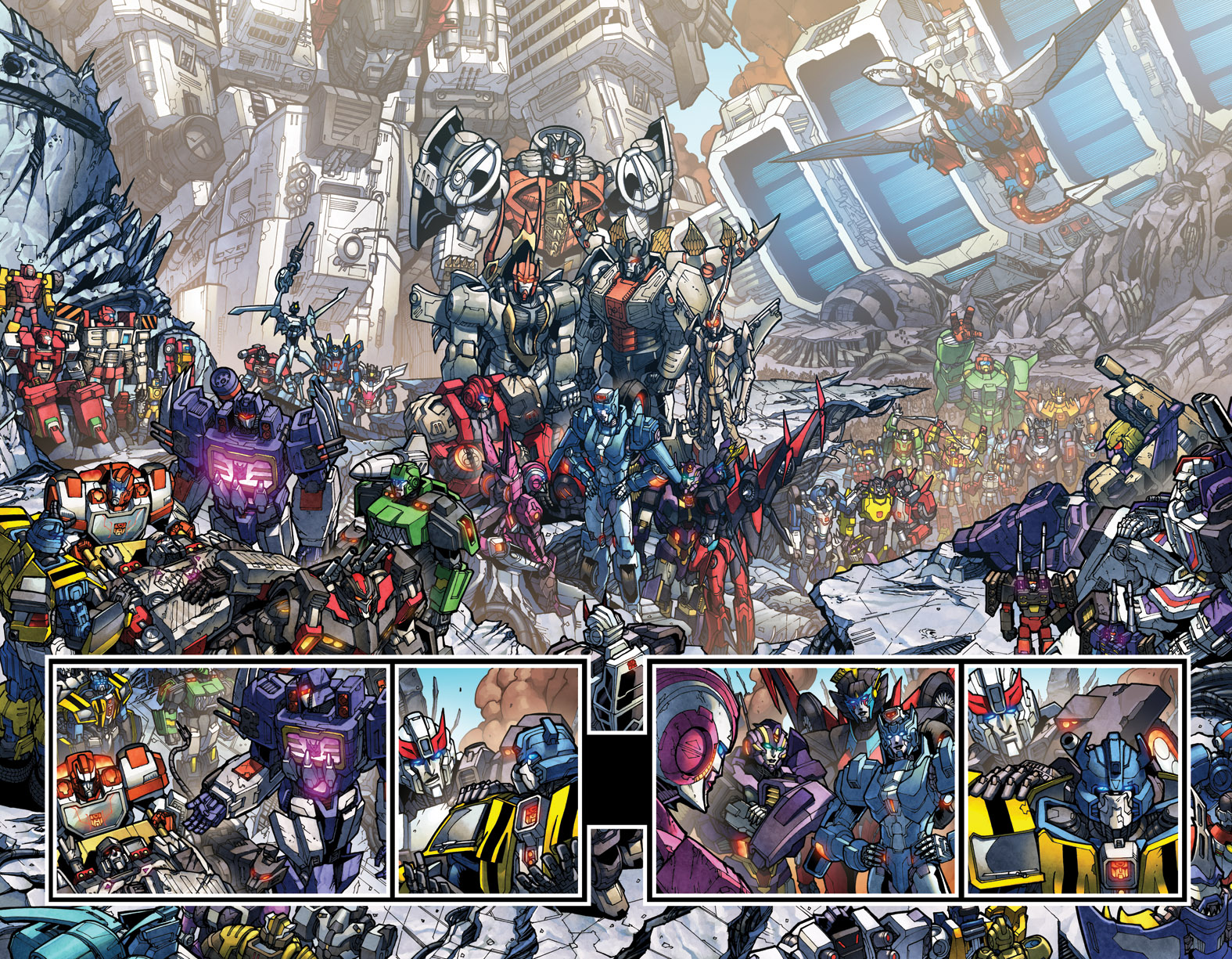 TF MTMTE 27 pages 4-5 spread colours by markerguru
