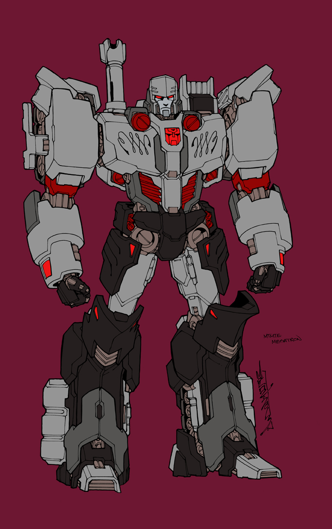MTMTE Megatron by markerguru