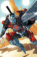 TF Drift Empire of Stone issue 01 cover by markerguru