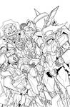 TF MTMTE 41 cover lineart