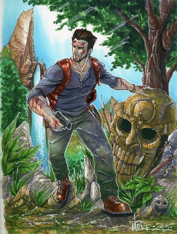 Uncharted Nathan Drake By Markerguru On Deviantart