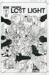 Transformers Lost Light issue 2 cover by markerguru