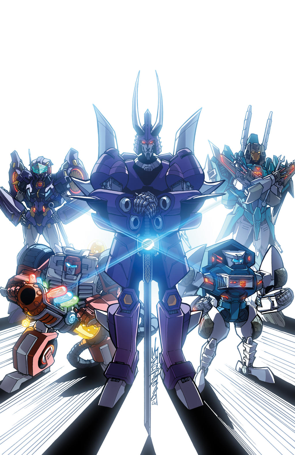 Transformers Lost Light issue 3 Sub cover colours