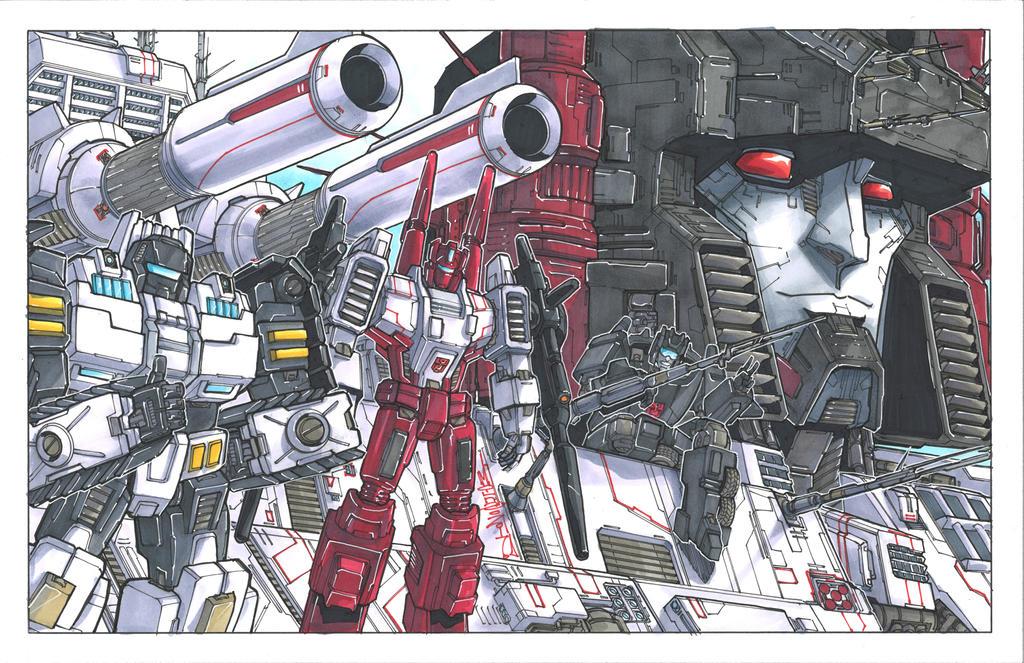 Metroplex Commission by markerguru