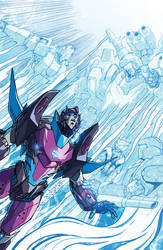 Transformers Lost Light issue 16 cover B by markerguru