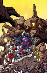 Tranformers Lost Light issue 17 cover B
