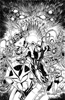ROM vs Transformers issue 1 cover