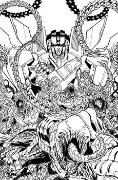 ROM vs Transformers issue 2 cover