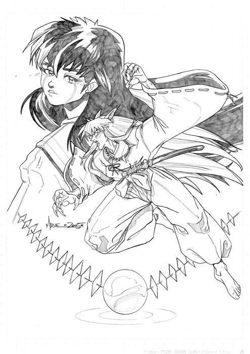 inuyasha by markerguru