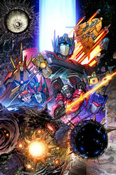 Tranformers UNICRON 01cover by markerguru