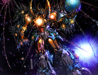 UNICRON promo image colors by markerguru