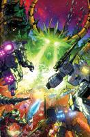Transformers UNICRON 03 cover by markerguru