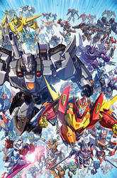 Transformers Lost Light issue 25 cover