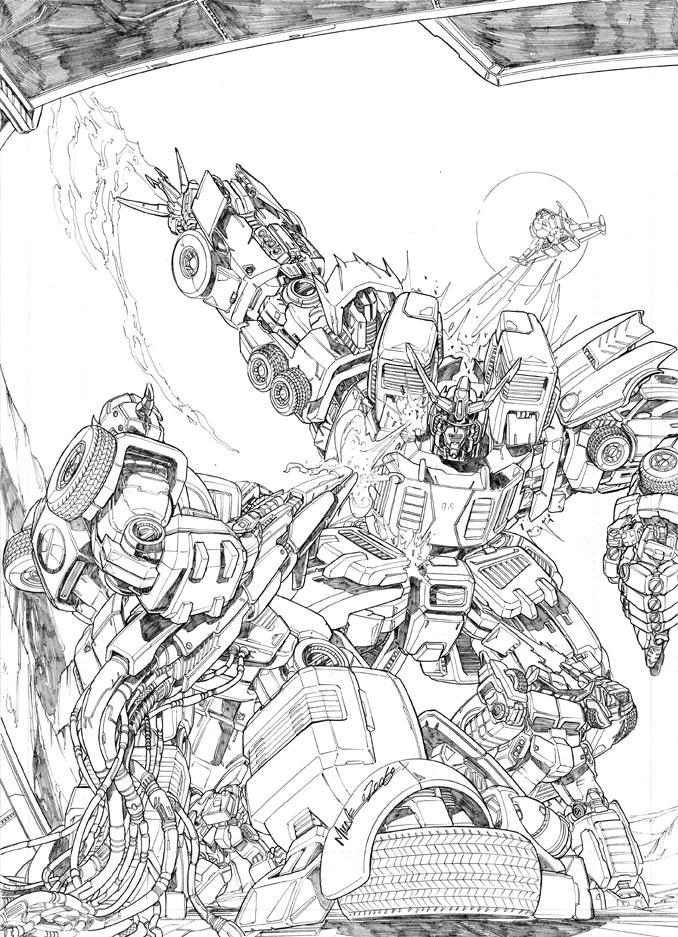 G1 promo art by markerguru