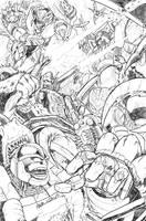 rumble in the jungle by markerguru