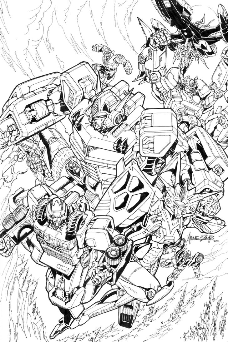 botcon2007cover by markerguru