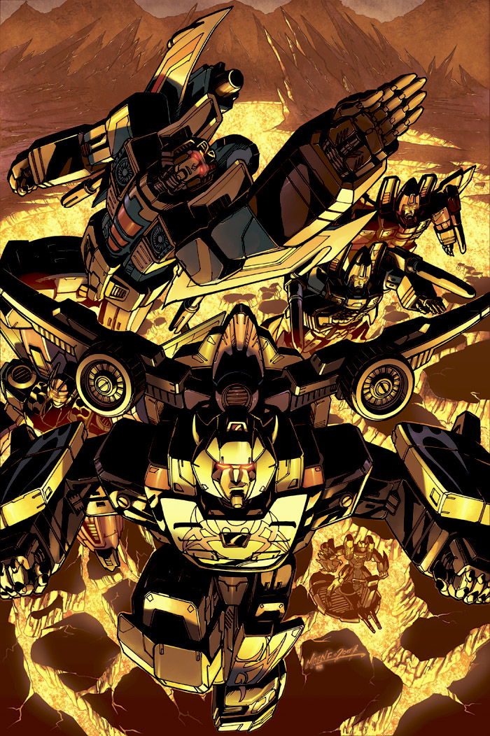botcon2007 cover B by markerguru