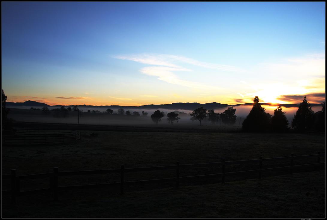 Morning Fog by Dooonster