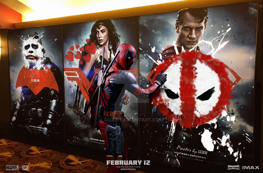 Bvs Deadpool poster by GOXIII