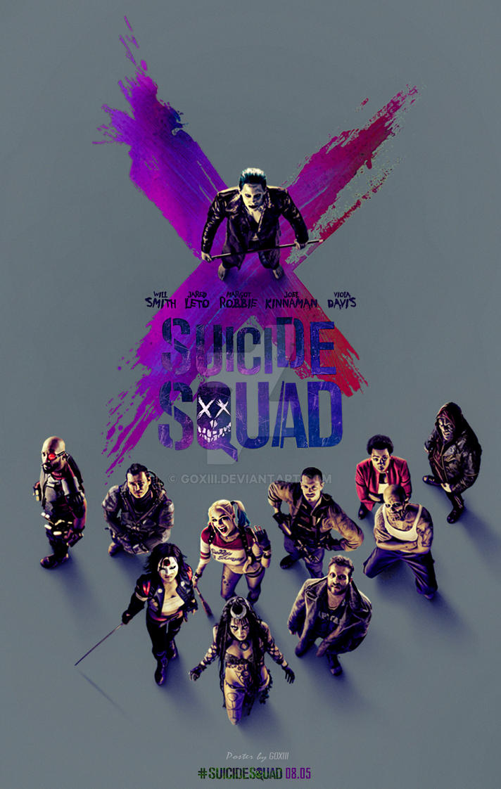 Image result for suicide squad poster