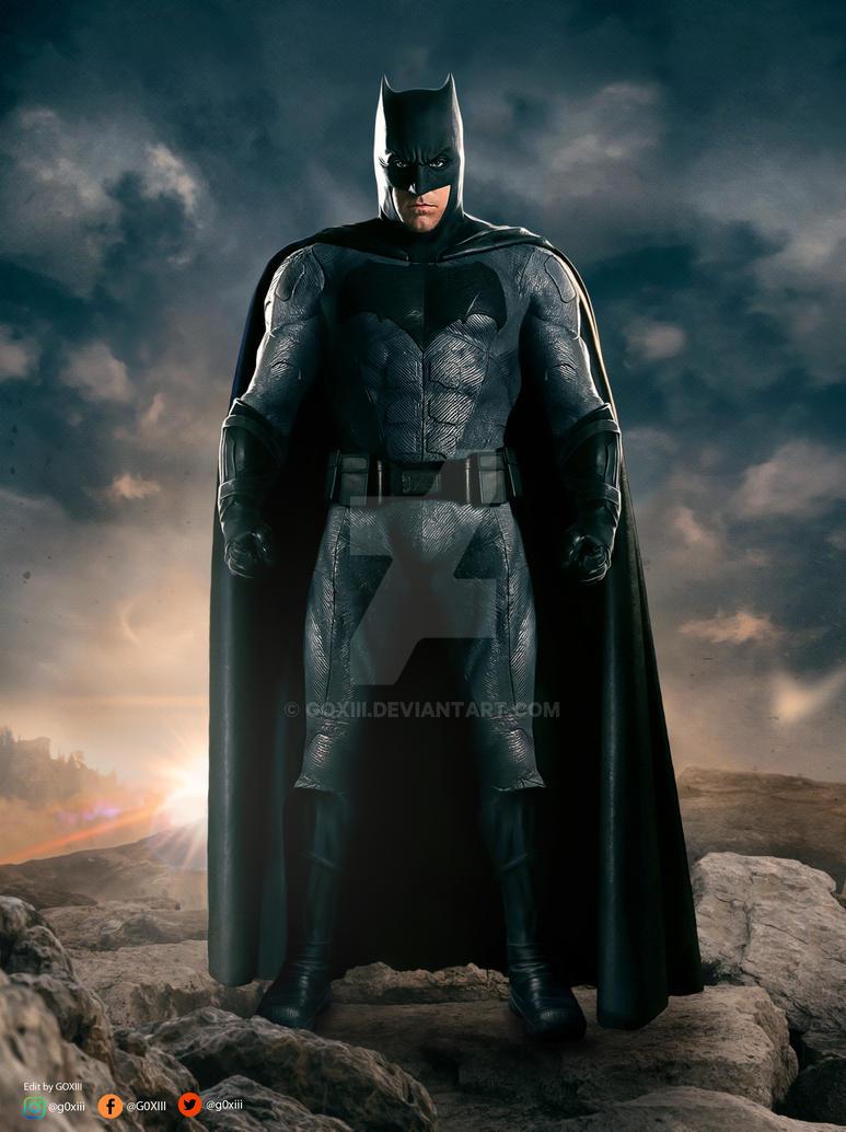 Justice League: Batman by GOXIII on DeviantArt