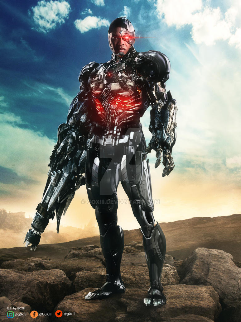 justice league cyborg by goxiii on deviantart