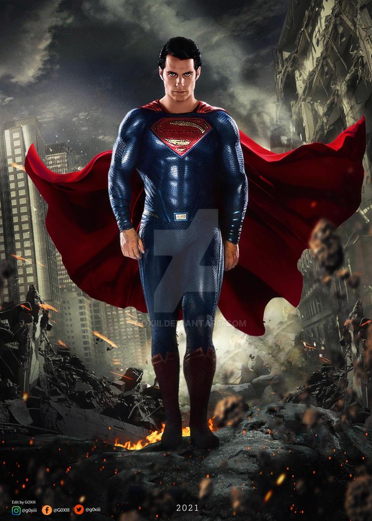 Man of Steel 2 Poster by GOXIII on DeviantArt