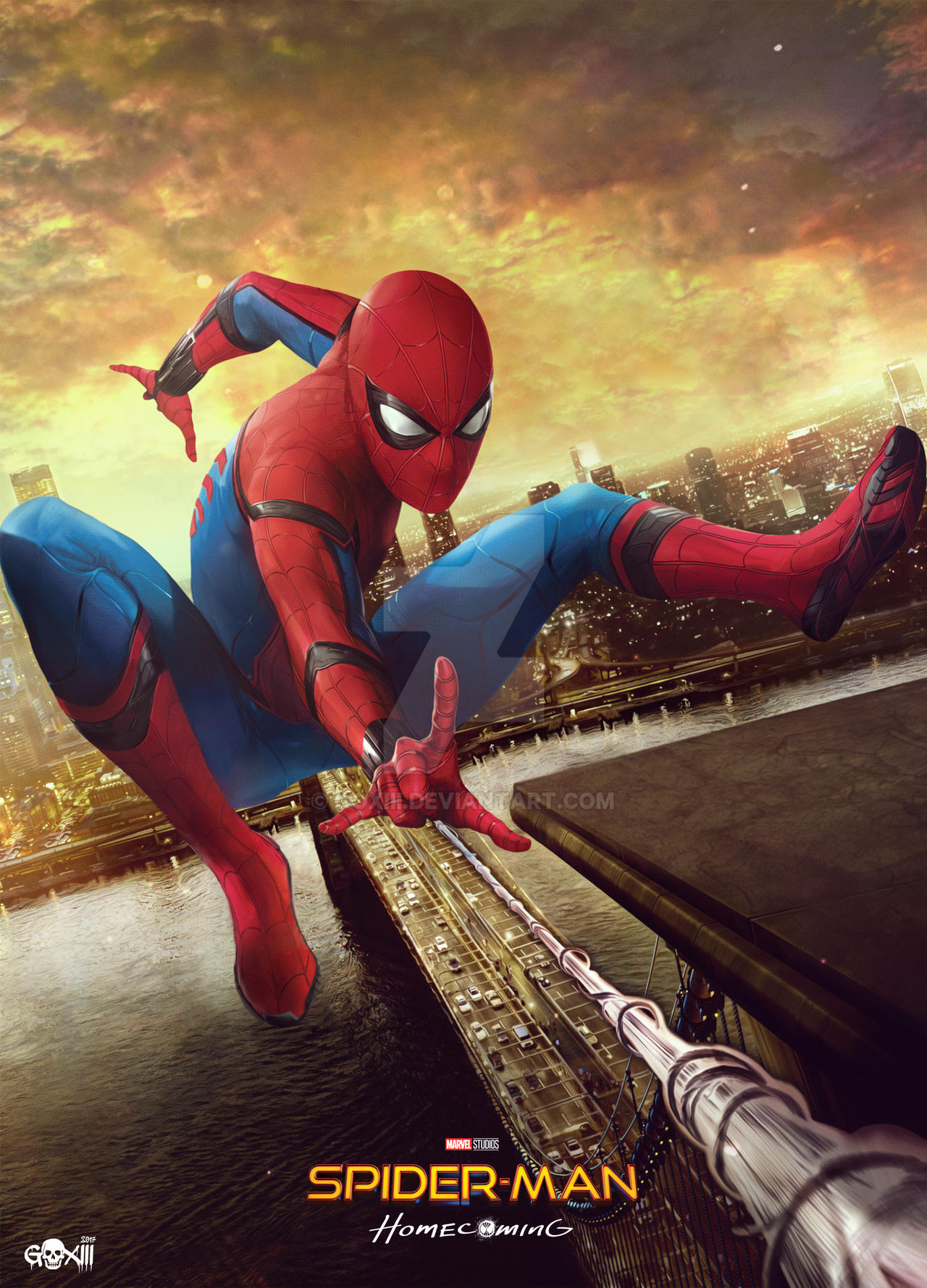 Spider-Man Homecoming Poster by GOXIII on DeviantArt