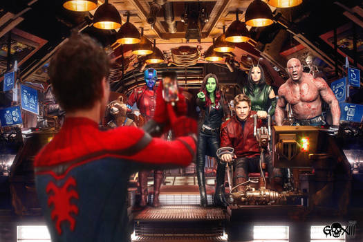 Spidey and GOTG2