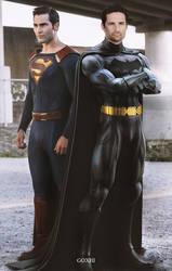 Batman Superman CW