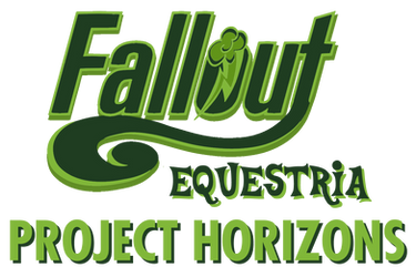 Fallout Equestria: Project Horizons logo by OliveBranchMLP