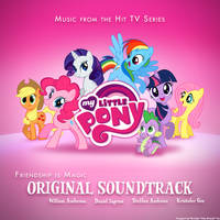 My Little Pony Soundtrack Album Art Cover Concept