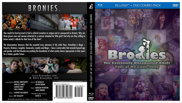 Bronies Documentary Cover Art