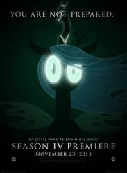You Are Not Prepared - MLP Season 4 Promo Poster