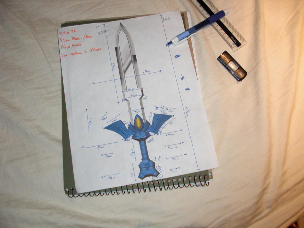 Master Sword WIP by Alexp3000