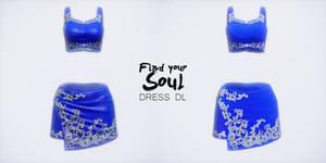 FIND YOUR SOUL dress Tae - MMD DL -