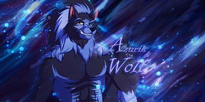 Azurik the Blue Wolf Signature by TechnoEnergy279