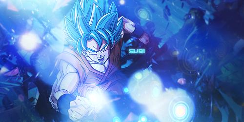 Goku SSJ God SSJ by TechnoEnergy279