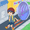 -Ness- Pixel art by charlomilk