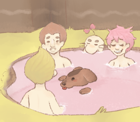 Hot Springs by charlomilk