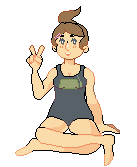 i made the pixel by charlomilk