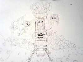 the Pinkie Cupcake Moon Dasher by PinkieSparrowPie